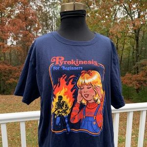 "Black Matter ""Pyrokinesis ..."" T-Shirt Large"